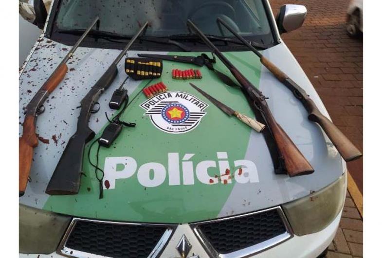 Grupo armado é preso em Itaí e irá responder por caça ilegal