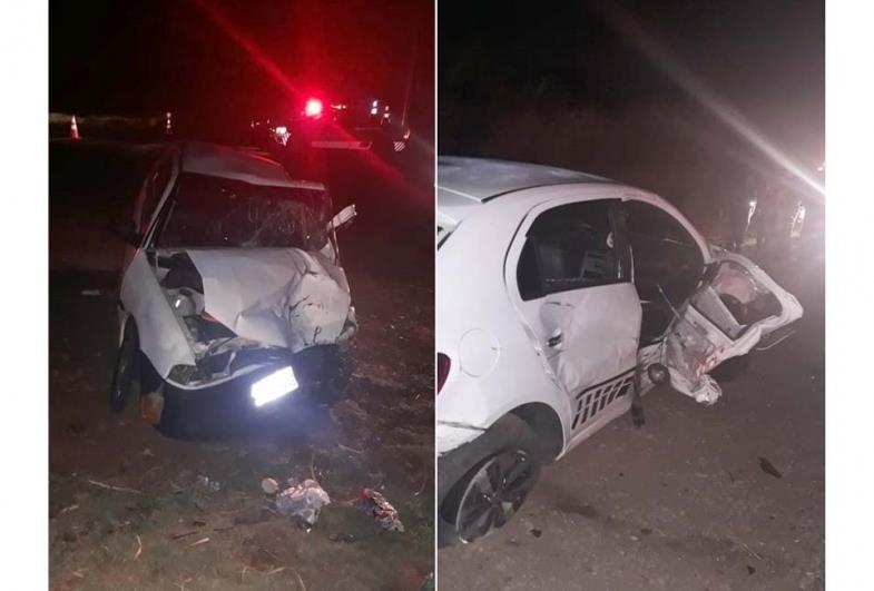 Idosa morre em acidente entre as cidades de Taquarituba e Itaí
