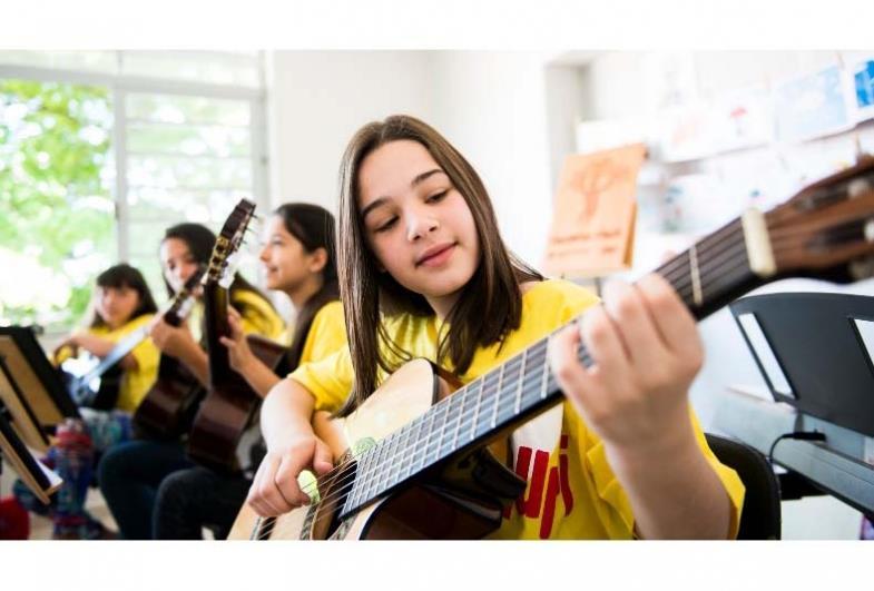 Projeto Guri está com inscrições abertas para diversos cursos de iniciação musical em Sarutaiá