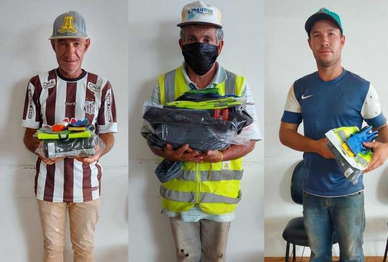 Prefeitura de Sarutaiá entrega equipamentos de proteção aos servidores