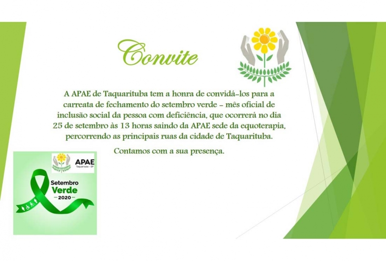 APAE DE TAQUARITUBA PROMOVE CARREATA NESTA SEXTA-FEIRA