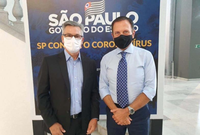 Prefeito Isnar de Sarutaiá agradece o apoio do Governo do Estado de São Paulo