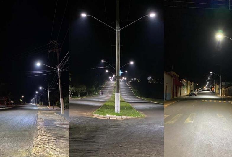 Prefeitura de Sarutaiá implanta iluminação com tecnologia de LED