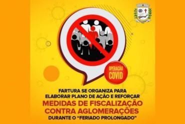Operação Covid: Fartura reforçará fiscalização para evitar aglomerações no feriado prolongado decretado na cidade de São Paulo