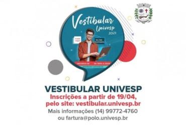 Estudante farturense: segunda-feira (19/04), estarão abertas inscrições para o Vestibular Univesp