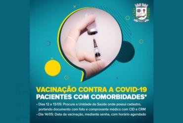 Fartura abre vacinação contra Covid-19 para grupo específico de moradores com comorbidades