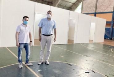 """""""Polo covid"""" está previsto para iniciar atendimentos na próxima semana em Fartura"""