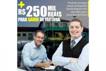 Câmara aprova abertura de crédito de R$ 250 mil para Santa Casa de Fartura
