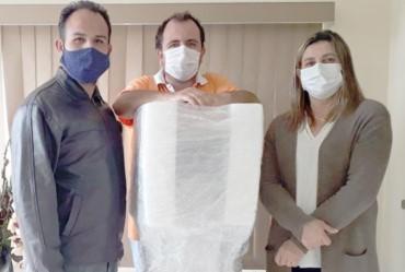 Santa Casa de Taguaí recebe ventilador pulmonar de última geração