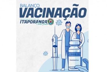 Saúde de Itaporanga faz balanço da vacinação