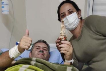 Vice-prefeito de Itaí vence a Covid-19 e tem alta médica