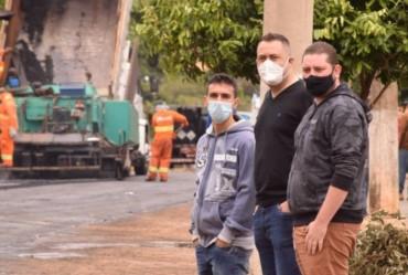 Começa obras de recapeamento na Avenida João Rocha