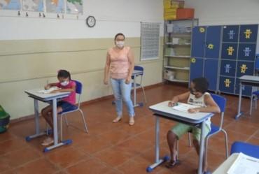 Estudantes da rede municipal de Sarutaiá são avaliados