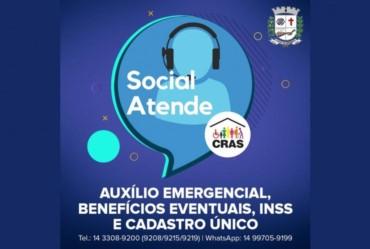 Social Atende: Coordenadoria de Assistência Social disponibiliza telefones para atendimento