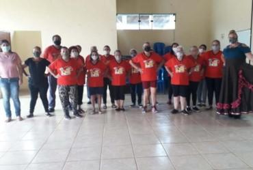 Vida Ativa de Tejupá retoma com as atividades com dança gaúcha