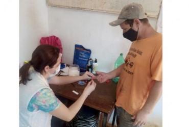 Prefeitura realiza testagem em massa dos profissionais da Coopera Fartura