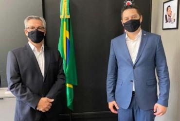 Isnar participa de reunião com o secretário Marco Vinholi