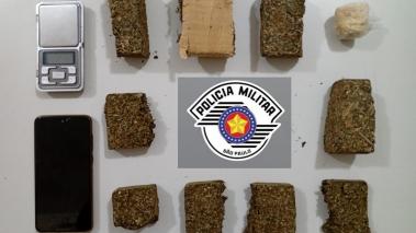 Três homens são presos por tráfico de drogas em Avaré