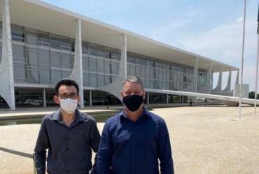 Silvinho e Anderson Solé vão à Brasília em busca de recursos