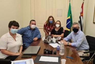 Isnar e secretária da educação participam de reunião em São Paulo