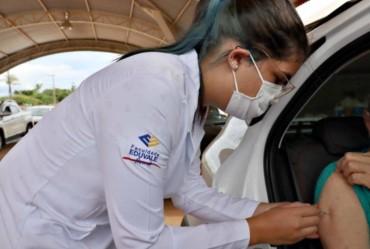 Enfermagem Eduvale atua na campanha de vacinação contra a Covid-19