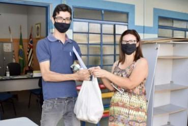 Prefeitura de Fartura realiza entrega do Kit Merenda