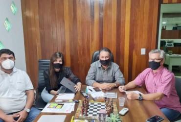 Isnar e vereador Pablo Garrote solicitam verbas ao deputado Capitão Augusto