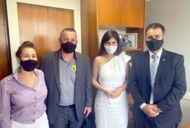 Betinho viaja a Brasília em busca de melhorias para Coronel Macedo