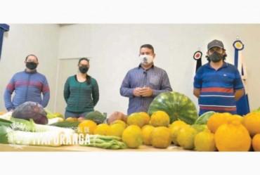 Prefeitura investe em alimentos de produtores de Itaporanga