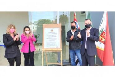 Novo prédio da Prefeitura de Coronel Macedo é entregue à população