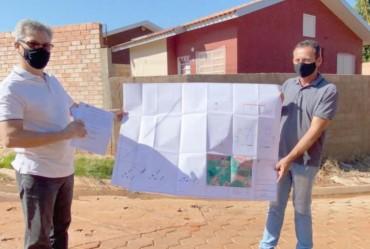 Prefeitura autoriza serviços de pavimentos com lajotas em Sarutaiá