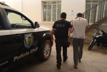 Foragido número um de São Paulo é preso pela Polícia Civil em Tejupá