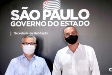 Prefeito Isnar participa de reuniões em São Paulo na CDHU e Secretaria de Justiça