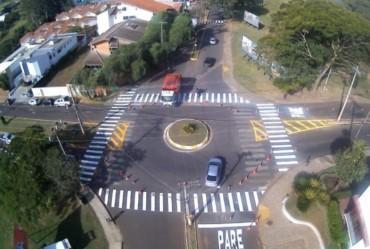 Mudança em sinalização viária vai melhorar trânsito na região central de Avaré