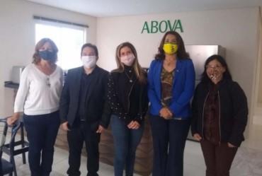 Deputada estadual Valéria Bolsonaro visita a cidade de Avaré
