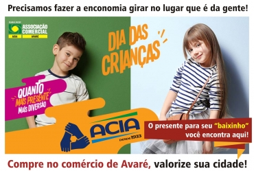 Comércio de Avaré estará aberto até às 22h nesta sexta-feira