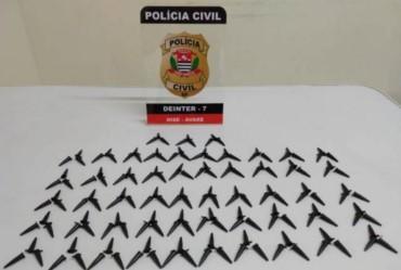 Jovem de 18 anos é preso com 160 pinos de cocaína em Avaré