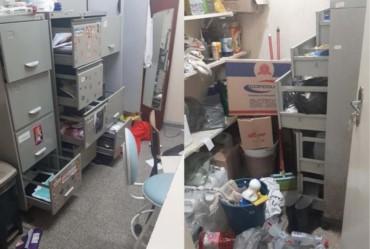 Posto de Saúde do Novo Centro em Taquarituba é alvo de invasão e furto
