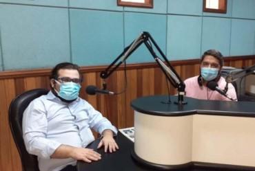 Caio Padilha cientista político concedeu entrevista ao Jornal Nova Voz (JNV)