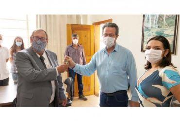 Após oito anos Valtinho Boranelli assume novamente como prefeito