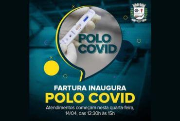 """Atendimentos no """"Polo Covid"""" terão início hoje, a partir das 12h30"""
