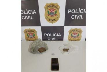 POLÍCIA CIVIL PRENDE HOMEM POR TRÁFICO DE DROGAS EM TEJUPÁ