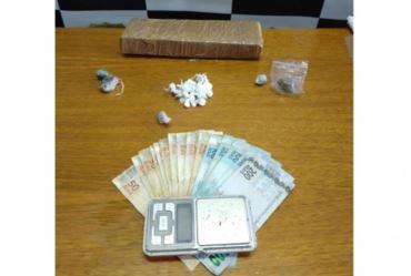 Polícia prende três homens durante ação de combate ao tráfico de drogas em Coronel Macedo