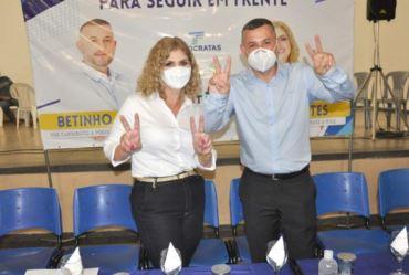 Betinho e Miltes são confirmados pré-candidatos a reeleição em Coronel Macedo
