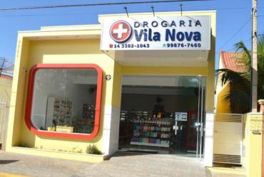 Drogaria Vila Nova é reinaugurada em Fartura