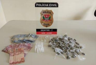 Polícia Civil prende mulher por tráfico de drogas no Parque Jurumirim