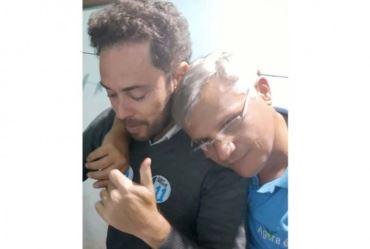 Prefeito de Taquarituba Éder Miano pede orações ao vice Zé Veiga