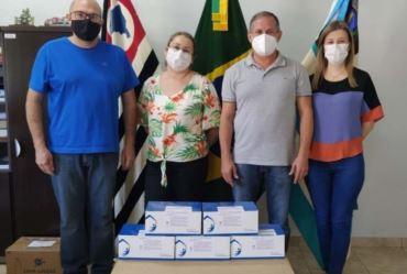 Taguaí recebe 1.500 testes rápidos para testagem de Covid-19