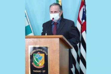 Edinho Fundão é empossado prefeito de Taguaí