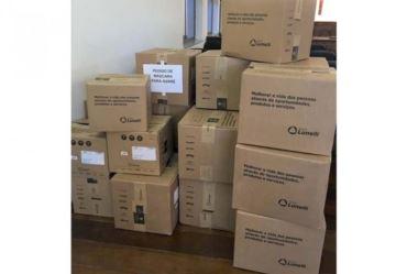 Secretaria da Saúde de Avaré recebe doação de 8500 kits de máscaras de proteção